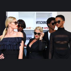Moschino: všetko o tejto hravej luxusnej značke slnečných a dioptrických okuliarov